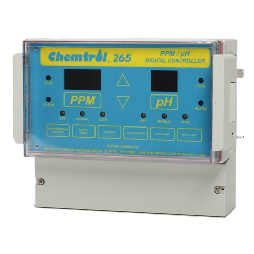 Chemtrol Category Image - CHEMTROL® CH265 PPM/pH Digital Controller
