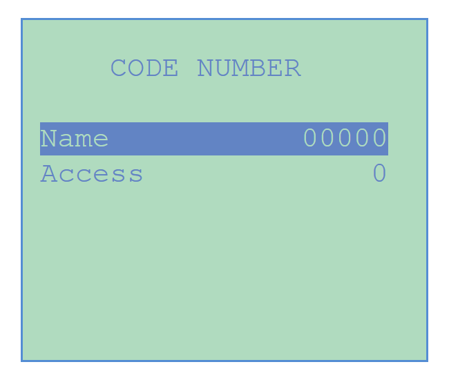 Chemtrol Category Image - Security Access Code