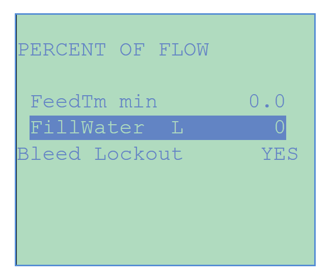 Chemtrol Category Image - Percent of Flow